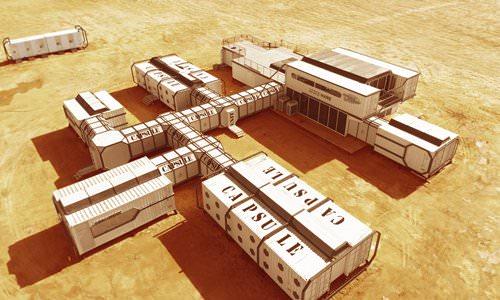 Mars simulation base / پایگاه شبیه سازی مریخ
