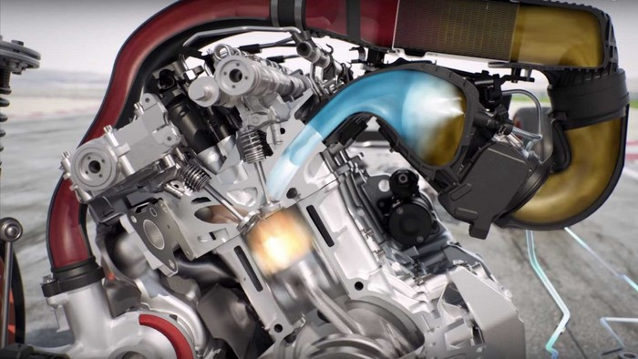 BMW M4 GTS Bosch water injection system
