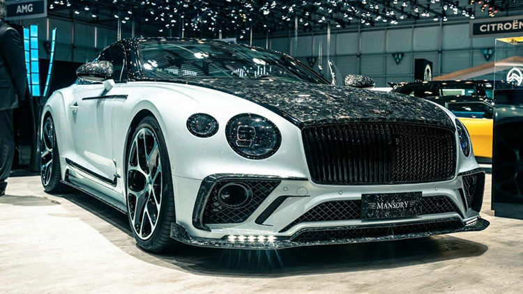 Mansory Bentley Continental GT / منصوری بنتلی کنتیننتال جی تی