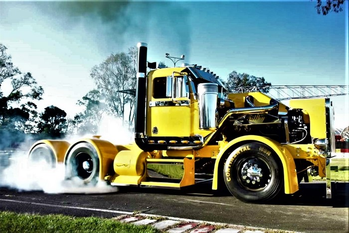Filthy the Burnout Truck