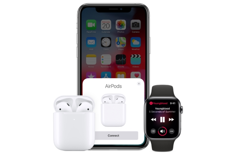 ایرپاد نسل دوم اپل / Apple Second Gen Airpods