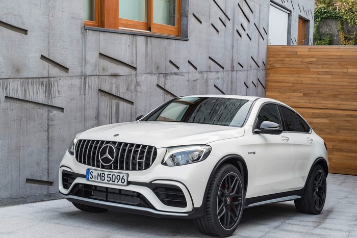 Mercedes benz AMG GLC63 S Coupe