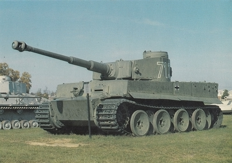 German ww2 tank tiger