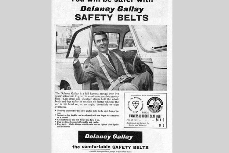 Delaney Galley seatbelts