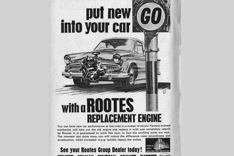 Rootes replacement engine