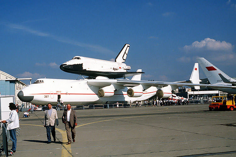 آنتونوف-۲۲۵ و بوران / An-225 and Buran