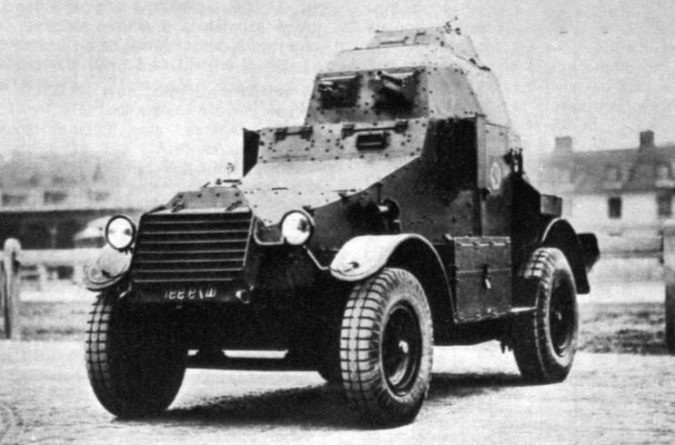 Peugeot armored car ww1