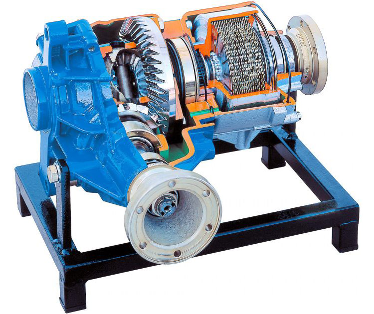 viscous coupling differential / دیفرانسیل کوپلینگ ویسکوز
