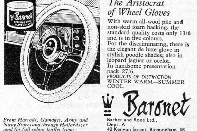 Baronet wheel glove