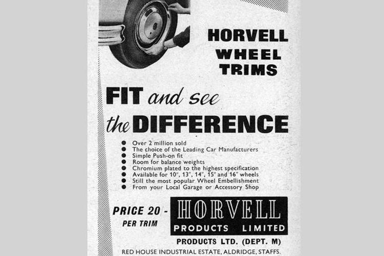 Horvell wheel trims