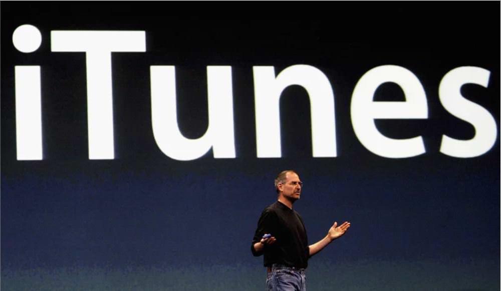 معرفی آی تیونز اپل استیو جابز / apple itunes steve jobs