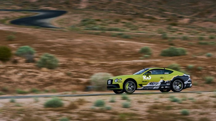 Bentley Continental GT Pikes Peak