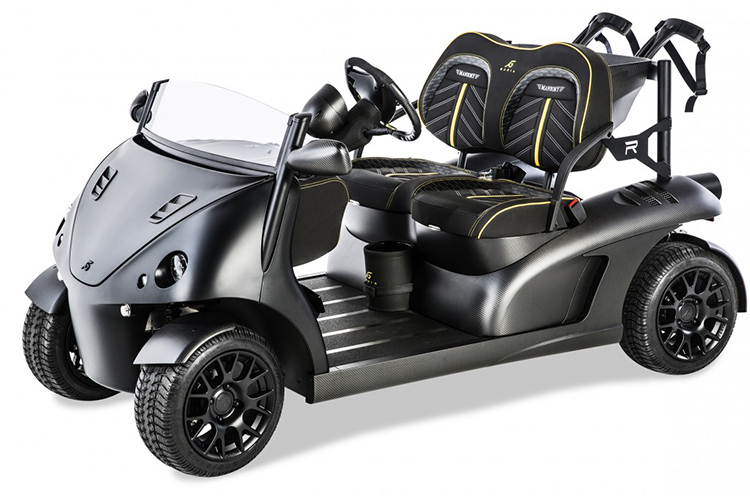 mansory currus Golf cart