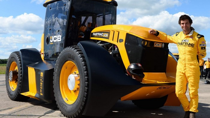 jcb world record tractor
