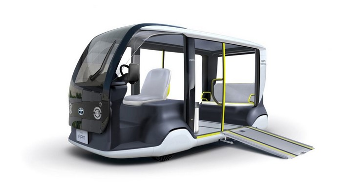 Toyota Custom Electric Shuttle