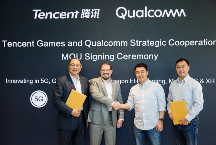 Qualcomm and Tencent