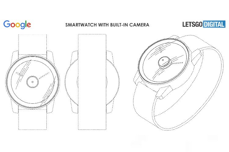 Google's Pixel Watch with camera