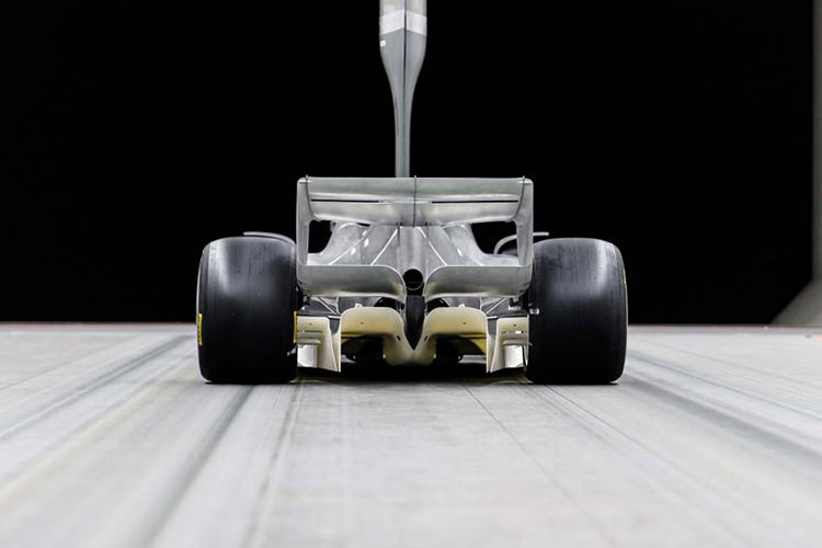 Formula 1 2021 wind tunnel