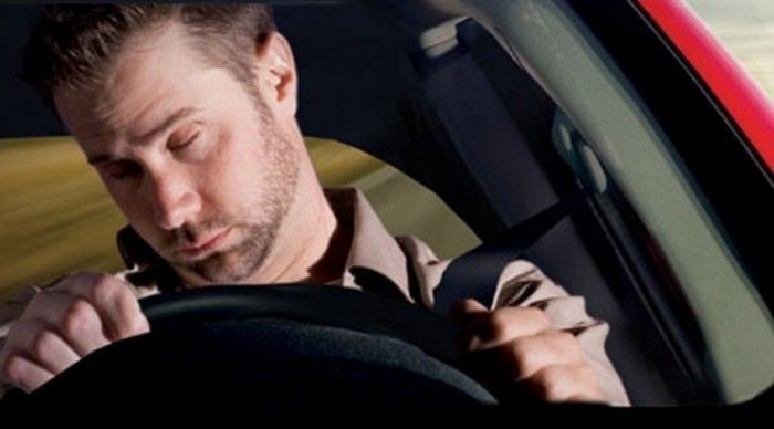 staying awake while driving
