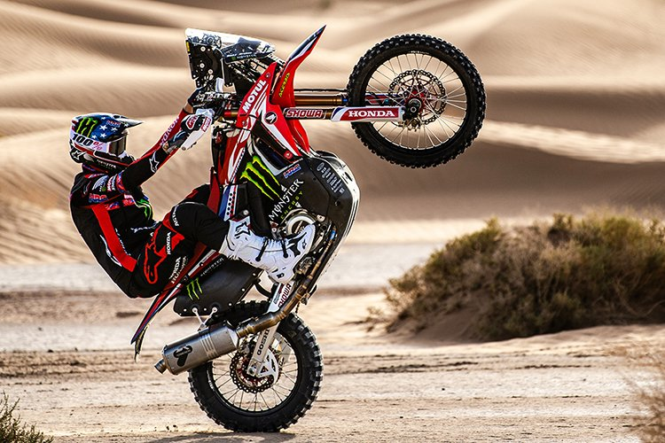 rally bike dakar