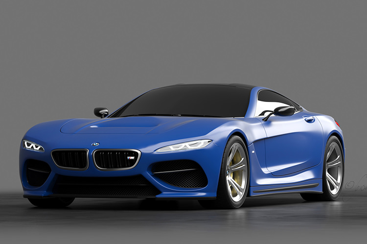 BMW 6 Series render