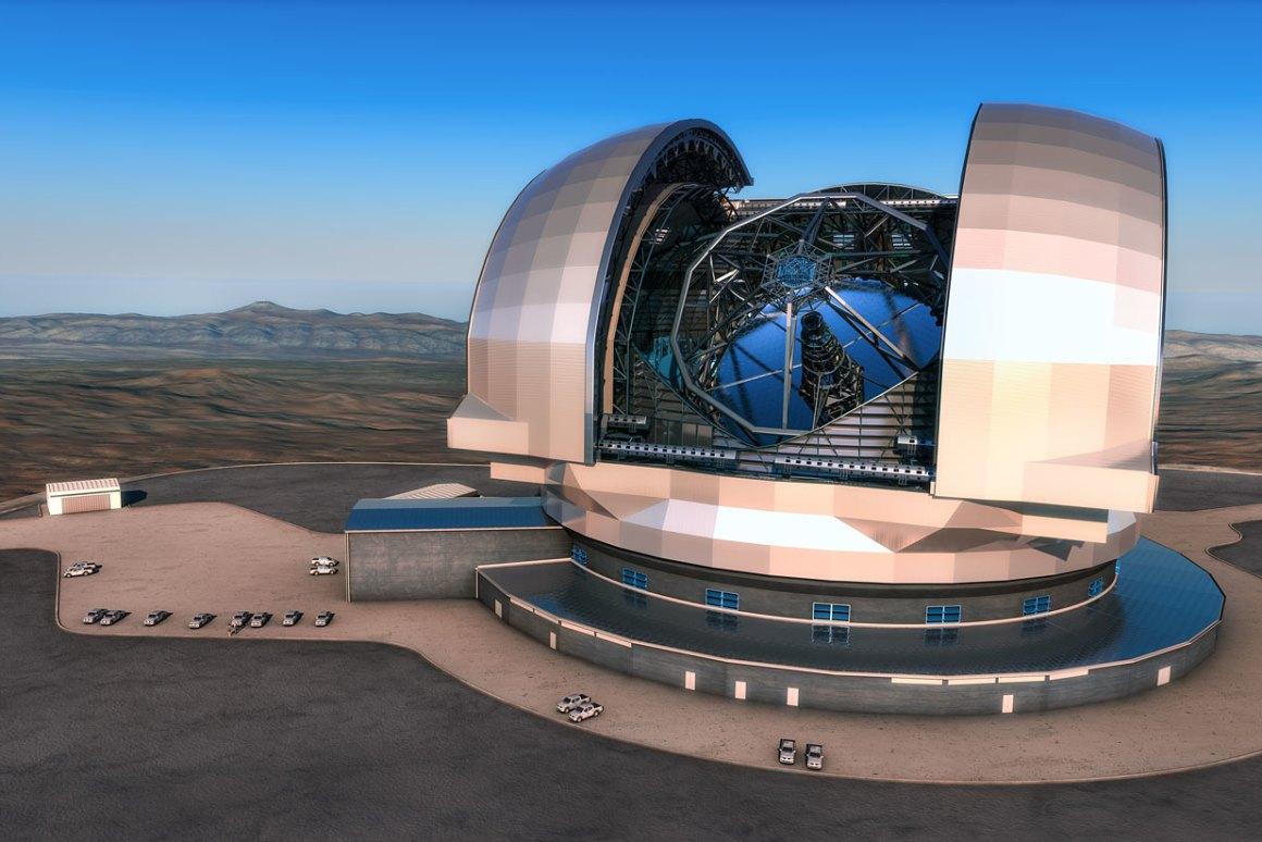 تلسکوپ بسیار بزرگ / ELT
