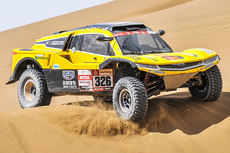 geely dakar rally