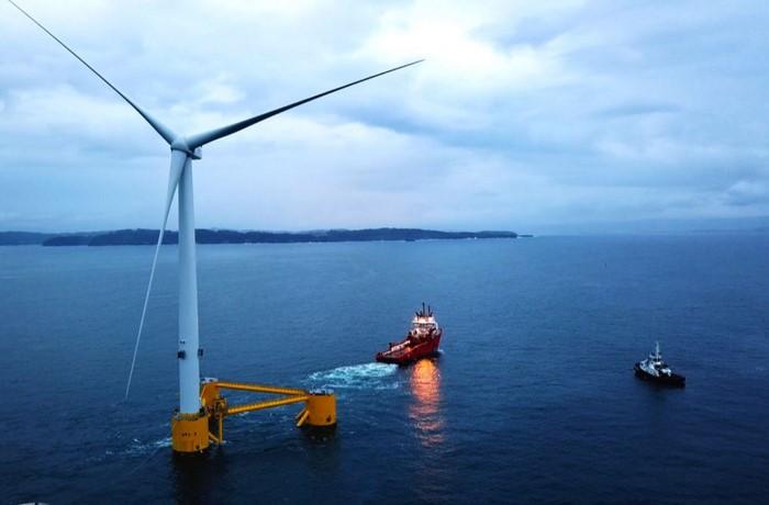 World's Largest Floating Wind Turbine