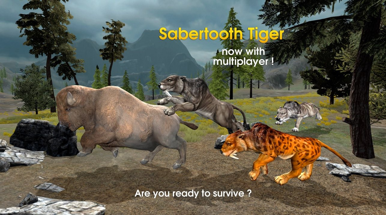 اسکرین شات بازی Sabertooth Multuplayer Survival Simulator