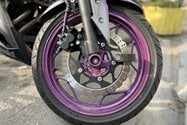 نمونه عکس پرتره آیفون ۱۲ پرو اپل - چرخ موتورسیکلت