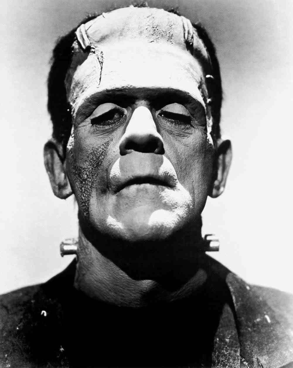 Boris Karloff as Frankenstein's monster