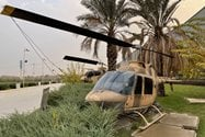 نمونه عکس دوربین اصلی آیفون ۱۲ پرو مکس در طول روز - هلیکوپتر موزه دفاع مقدس
