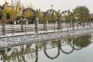 نمونه عکس دوربین تلهفوتو آیفون ۱۲ پرو مکس در طول روز - دریاچهی باغ کتاب تهران