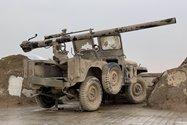 نمونه عکس دوربین تلهفوتو آیفون ۱۲ پرو مکس در طول روز - جیپ جنگی موزه دفاع مقدس تهران