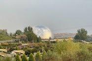 نمونه عکس دوربین تلهفوتو آیفون ۱۲ پرو مکس در طول روز - منظرهای از موزهی دفاع مقدس تهران