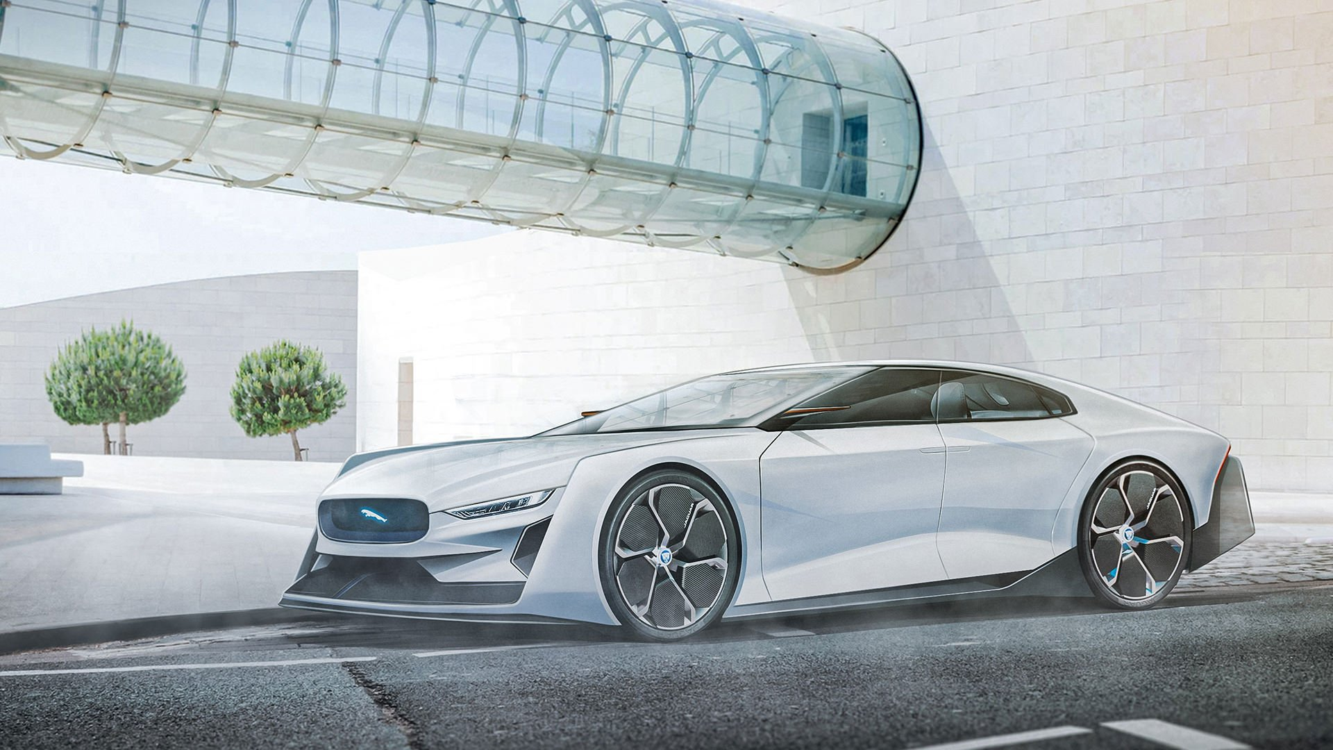 رندر ۲۰۵۰ جگوار / Jaguar XJ 2050 render