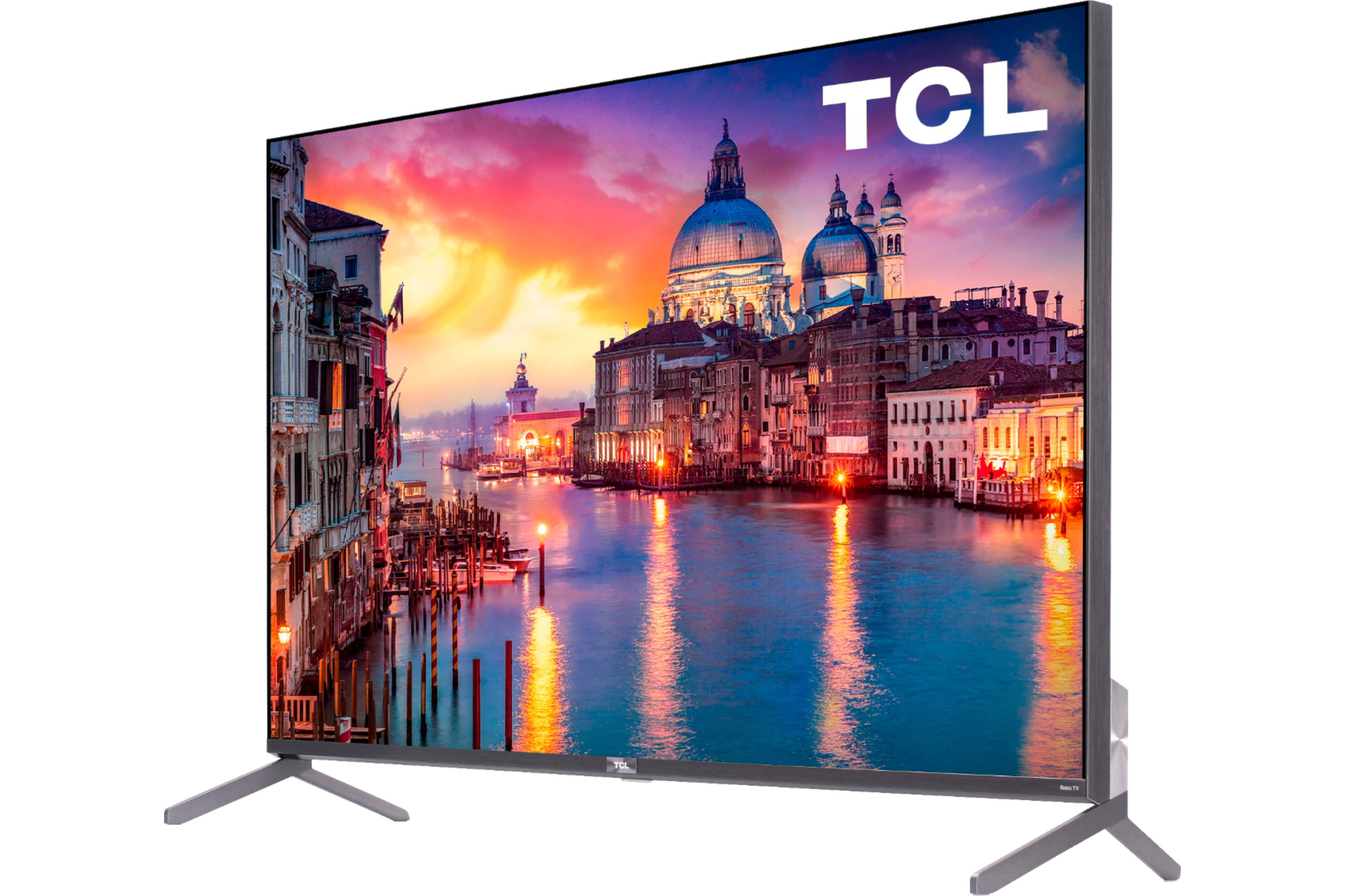 TCL Smart TV 4K model from a three-face view