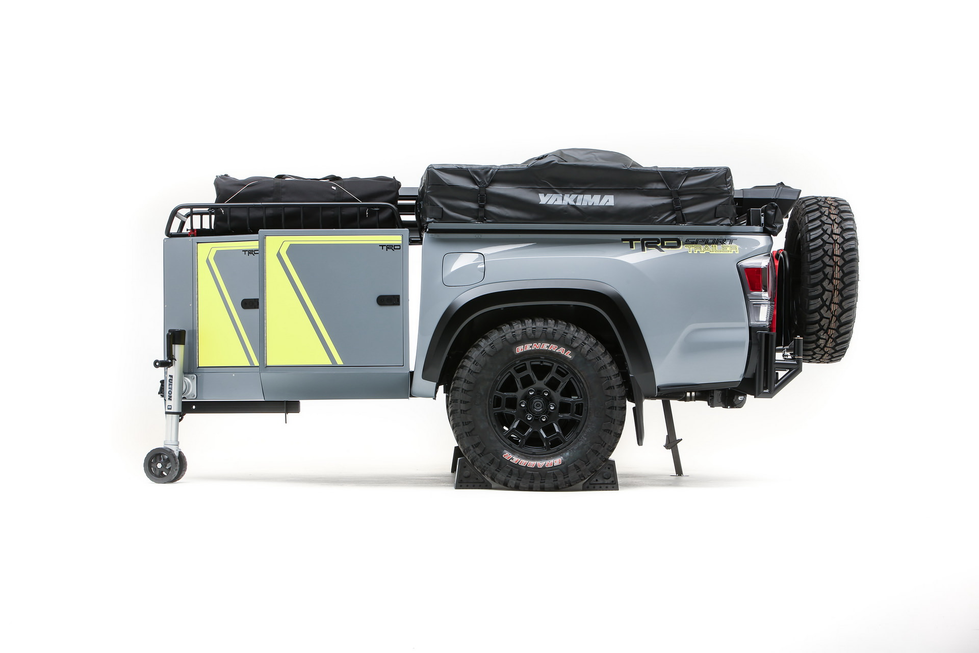 Toyota Tacoma trailer for off-road travel