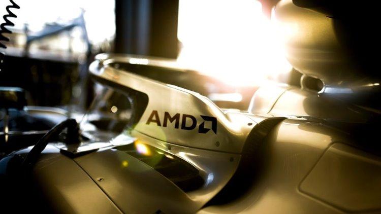 آغاز همکاری بلندمدت تیم مرسدس بنز و AMD در مسابقات فرمول یک