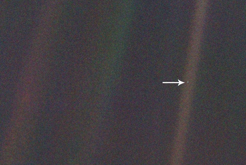 Pale Blue Dot / نقطه آبی کمرنگ