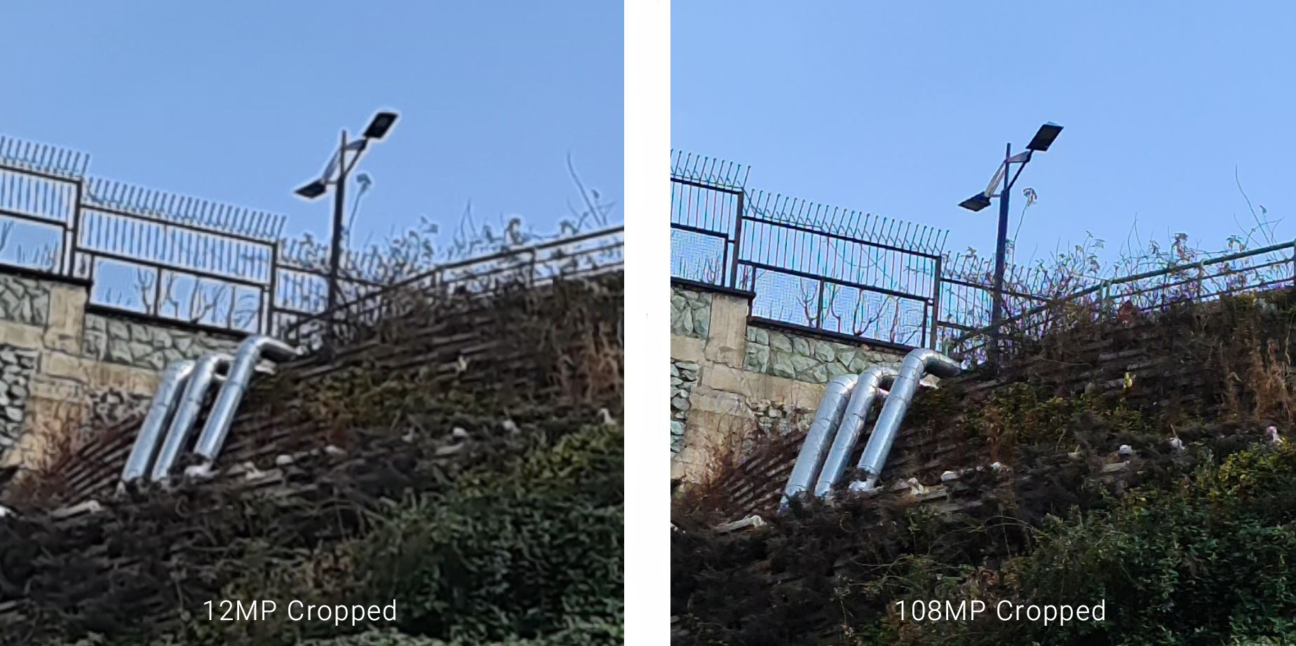 Galaxy S20 Ultra 108MP vs 12MP