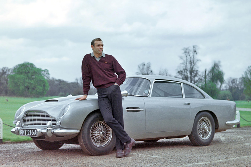 db5 goldfinger  james bond