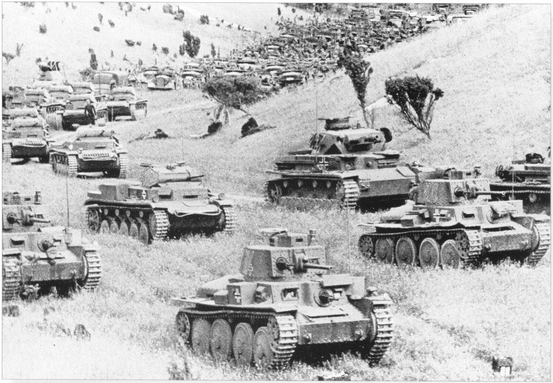 تاکتیک نظامی بلیتسکریگ آلمان نازی