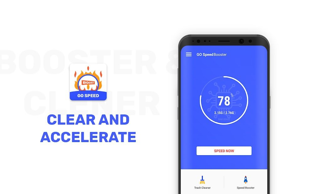 اسکرین شات اپلیکیشن GO Speed Booster Pro – Cleaner & Booster
