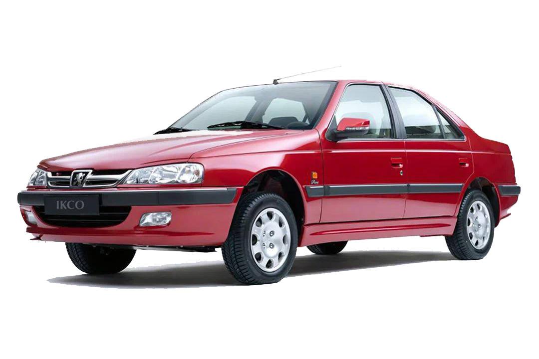 خودرو پژو پارس سال قرمز / IKCO Peugeot PARS