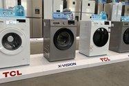 ماشین لباسشویی برند تی سی ال و ایکس ویژن در کارخانه لوازم خانگی مادیران