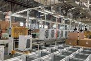 خط تولید ماشین لباسشویی برند تی سی ال و ایکس ویژن در کارخانه لوازم خانگی مادیران