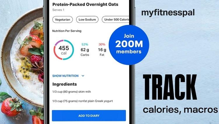 اپلیکیشن calorie counter