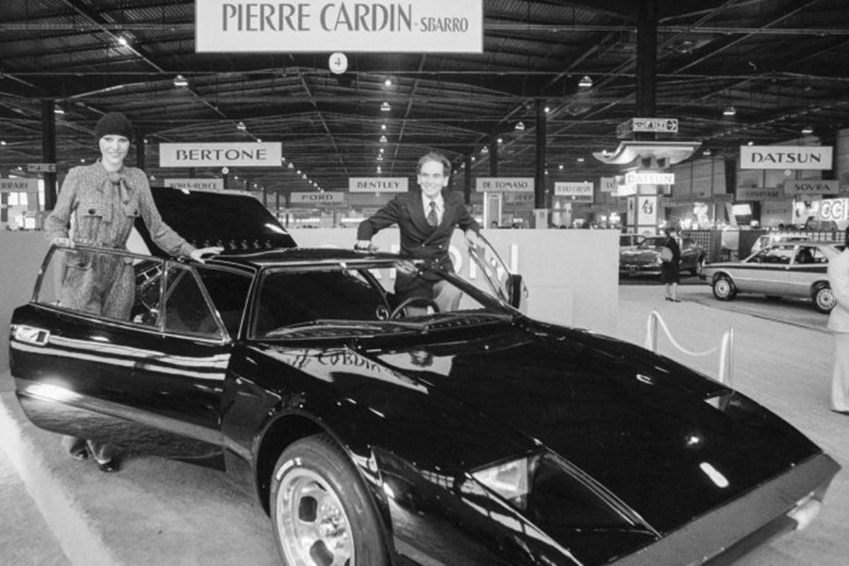 خودرو با طراحی پیر کاردین / Pierre Cardin