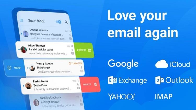 اپلیکیشن spark email